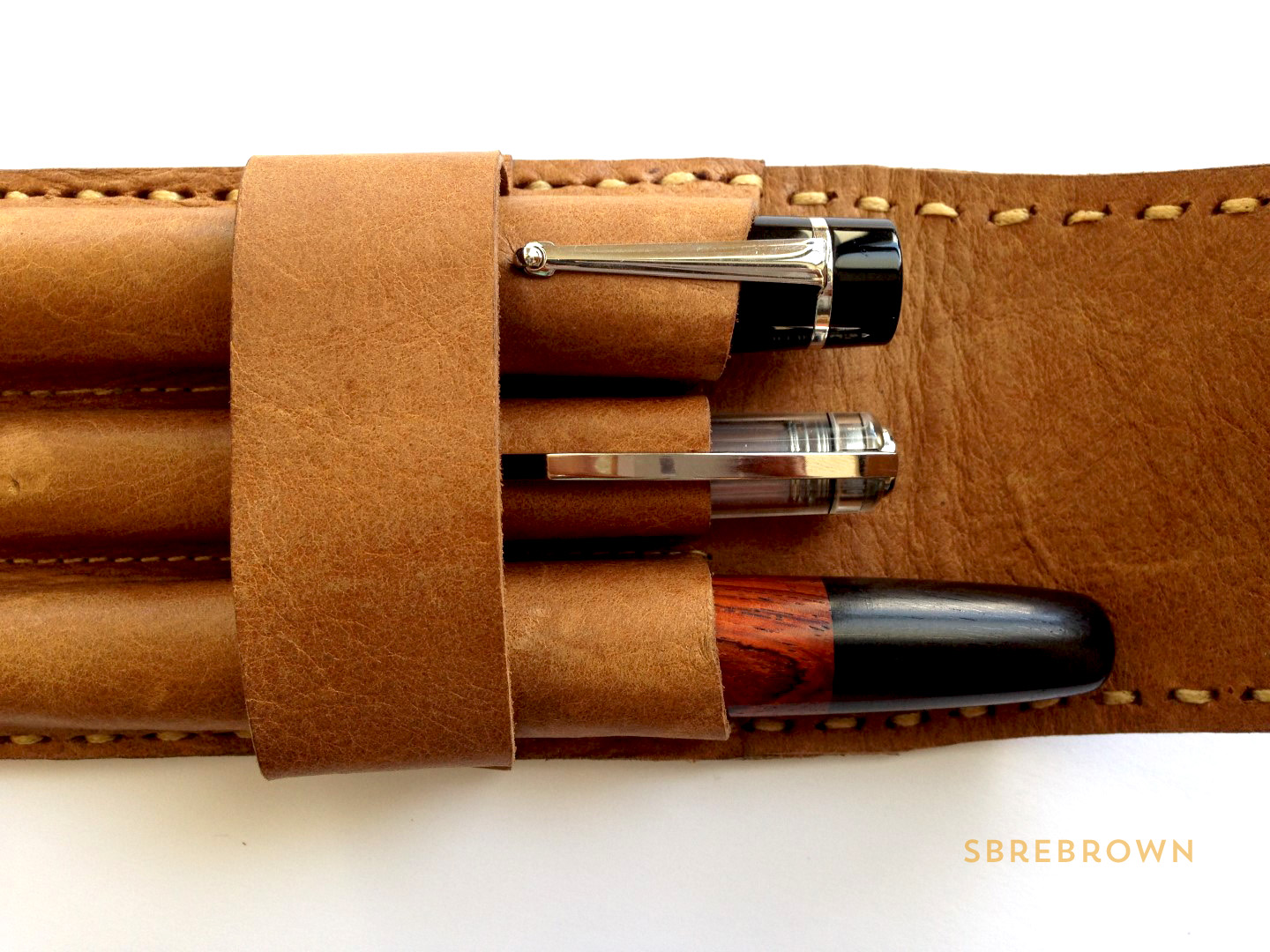 Leather on the High Street Pen Pouch