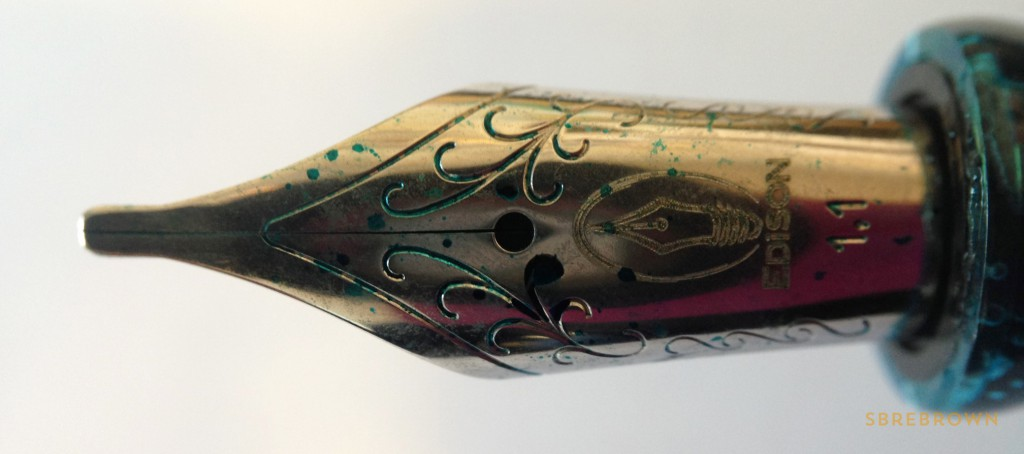 Edison Pen Co. Menlo - Acrylic & Ebonite Fountain Pens (3)