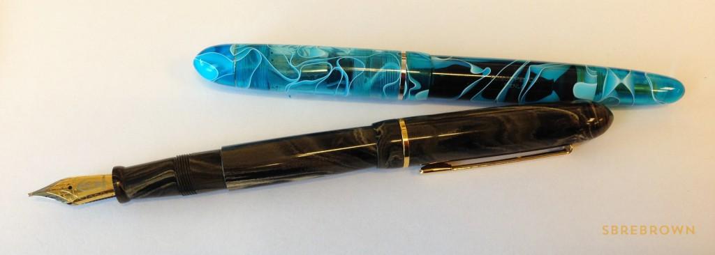 Edison Pen Co. Menlo - Acrylic & Ebonite Fountain Pens (4)