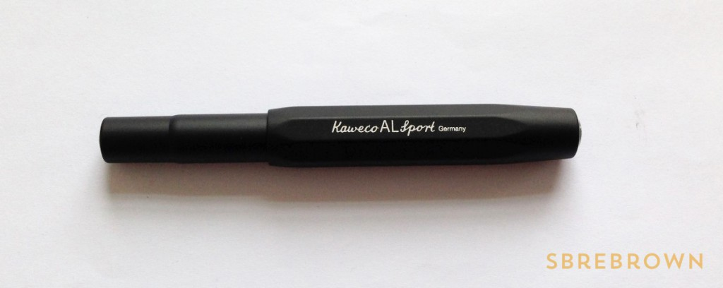 Kaweco AL Sport Black Fountain Pen (1)