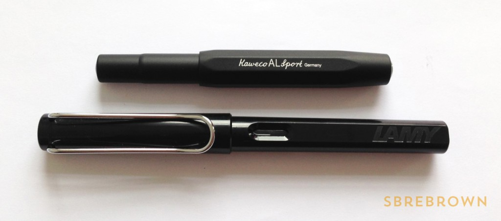 Kaweco AL Sport Black Fountain Pen (2)