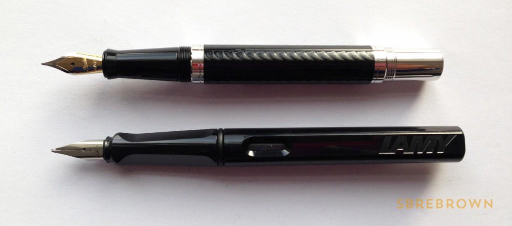 Italix Viper Fountain Pen - 18KT Medium (3)