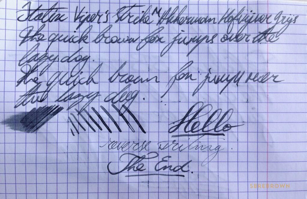 Italix Viper Fountain Pen - 18KT Medium (6)