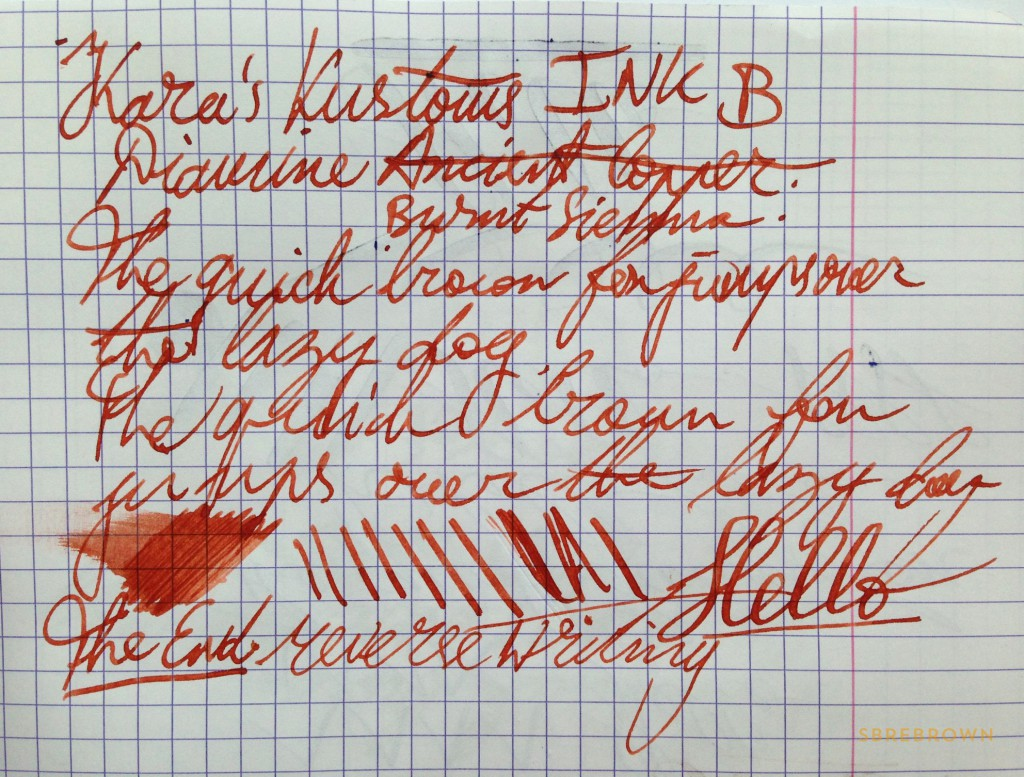 KarasKustoms Ink Fountain Pen Review (1)