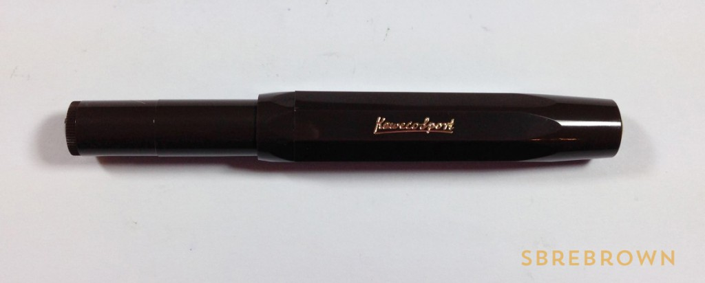 Kaweco Sport Brown Fountain Pen (2)