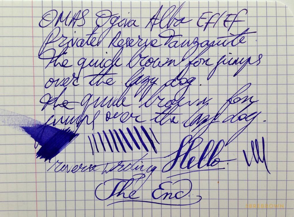 OMAS Ogiva Alba Fountain Pen Review (6)