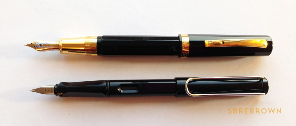OMAS Paragon Fountain Pen - 18KT Fine (5)
