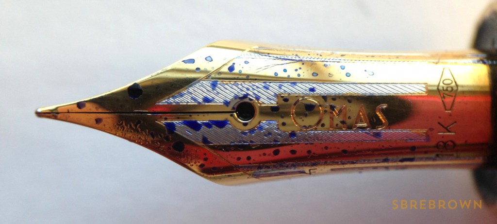 OMAS Paragon Fountain Pen - 18KT Fine (6)