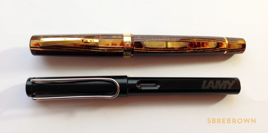 OMAS Milord Arco Celluloid Fountain Pen Review (2)