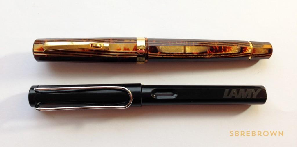 OMAS Milord Arco Celluloid Fountain Pen Review (2)