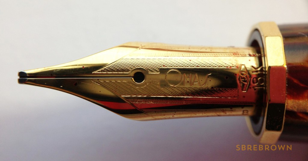 OMAS Milord Arco Celluloid Fountain Pen Review (6)