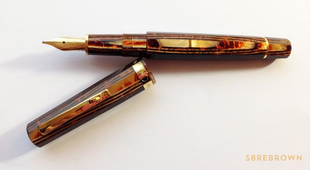 OMAS Milord Arco Celluloid Fountain Pen Review (7)