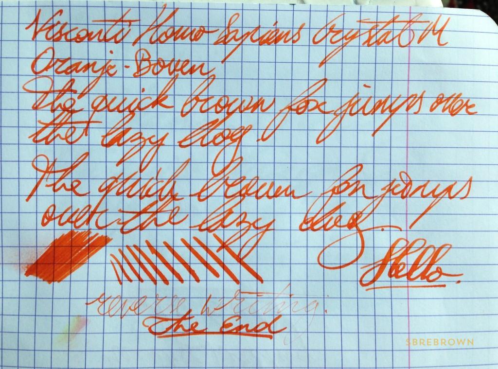 Visconti Homo Sapiens Crystal Fountain Pen (7)