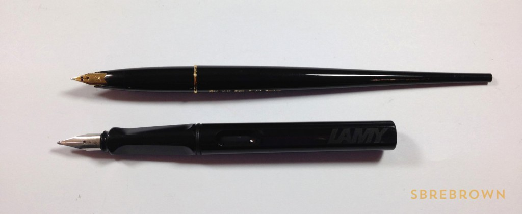 Platinum Carbon Desk Pen FP Review (5)