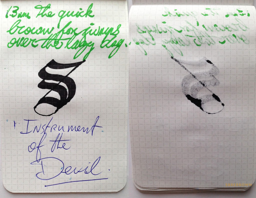 SB. Nock Co. Dot Dash Pocket Notebook Review (5)