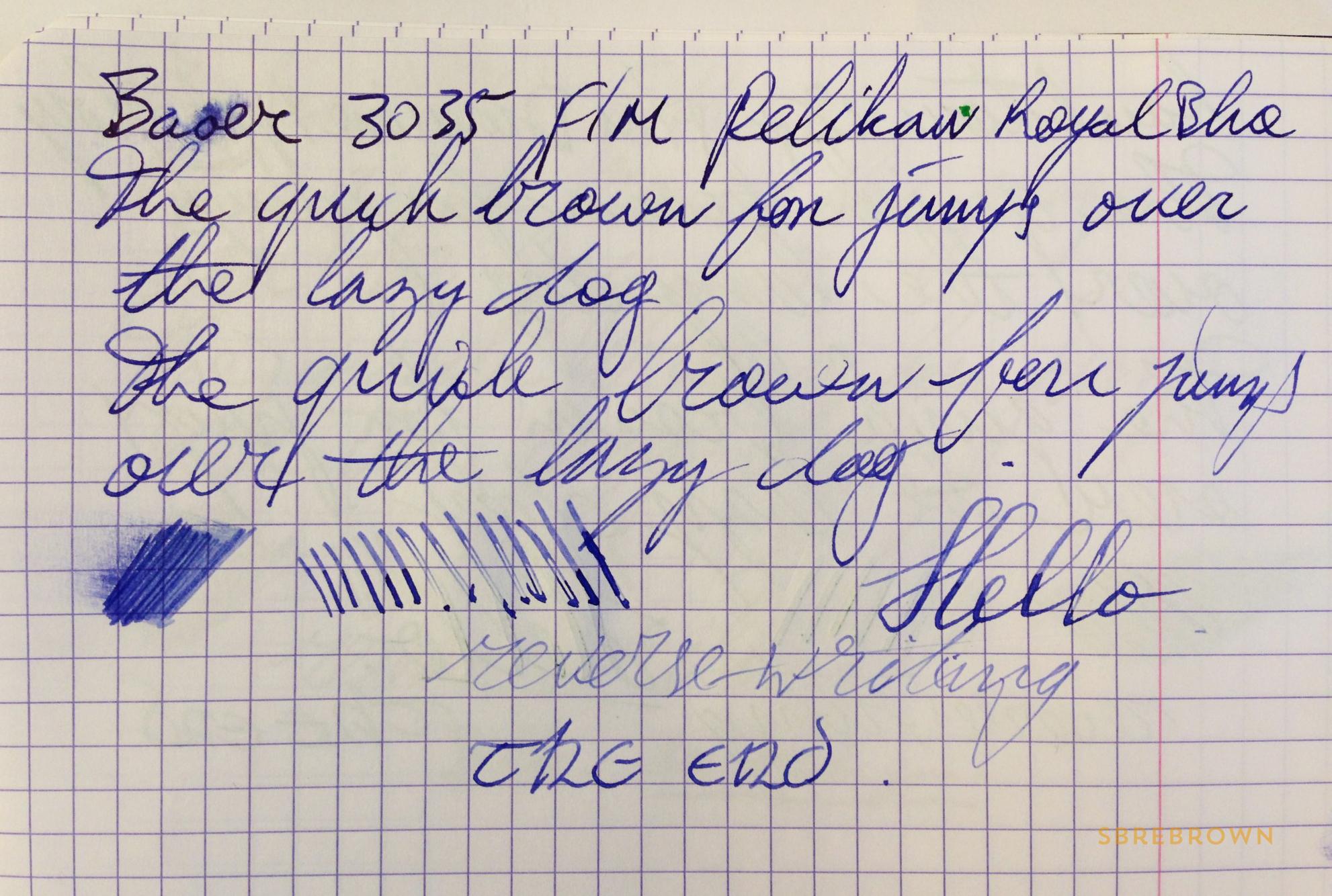 Baoer 3035 Fountain Pen Review (6)