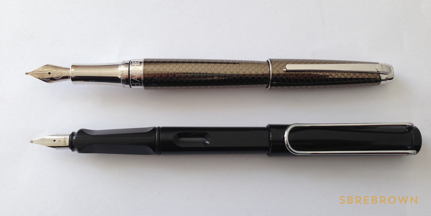 Caran d'Ache Léman Caviar Fountain Pen Review (4)