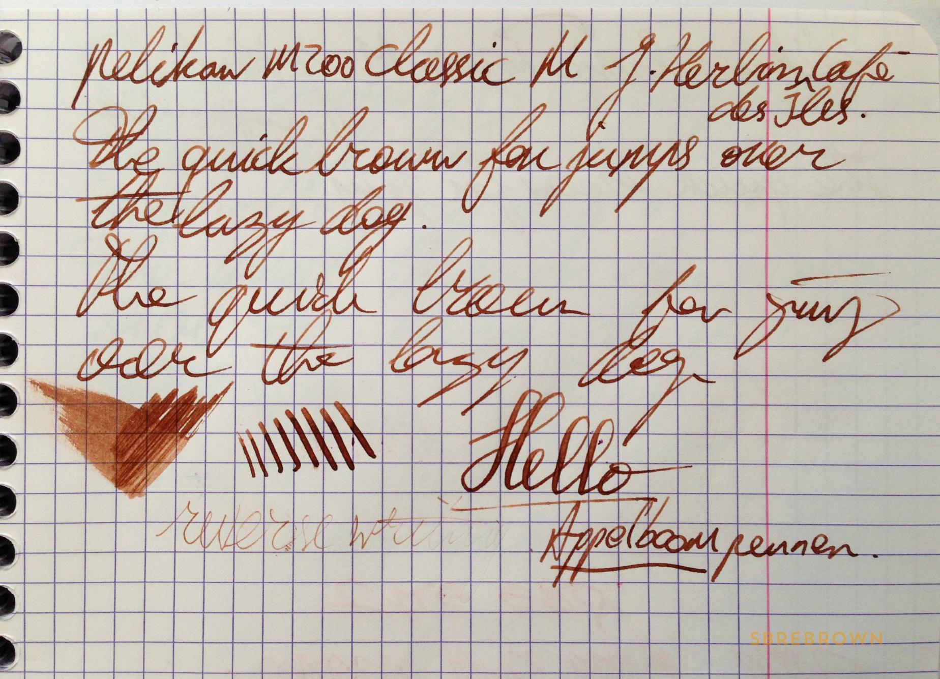 Pelikan Classic M200 Café Crème FP Review (6)