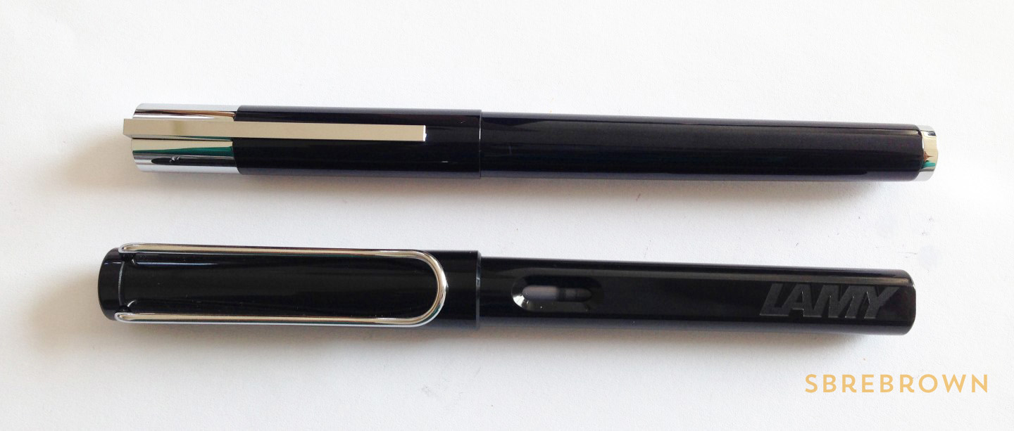 Lamy Scala Blue-Black FP Review (2)