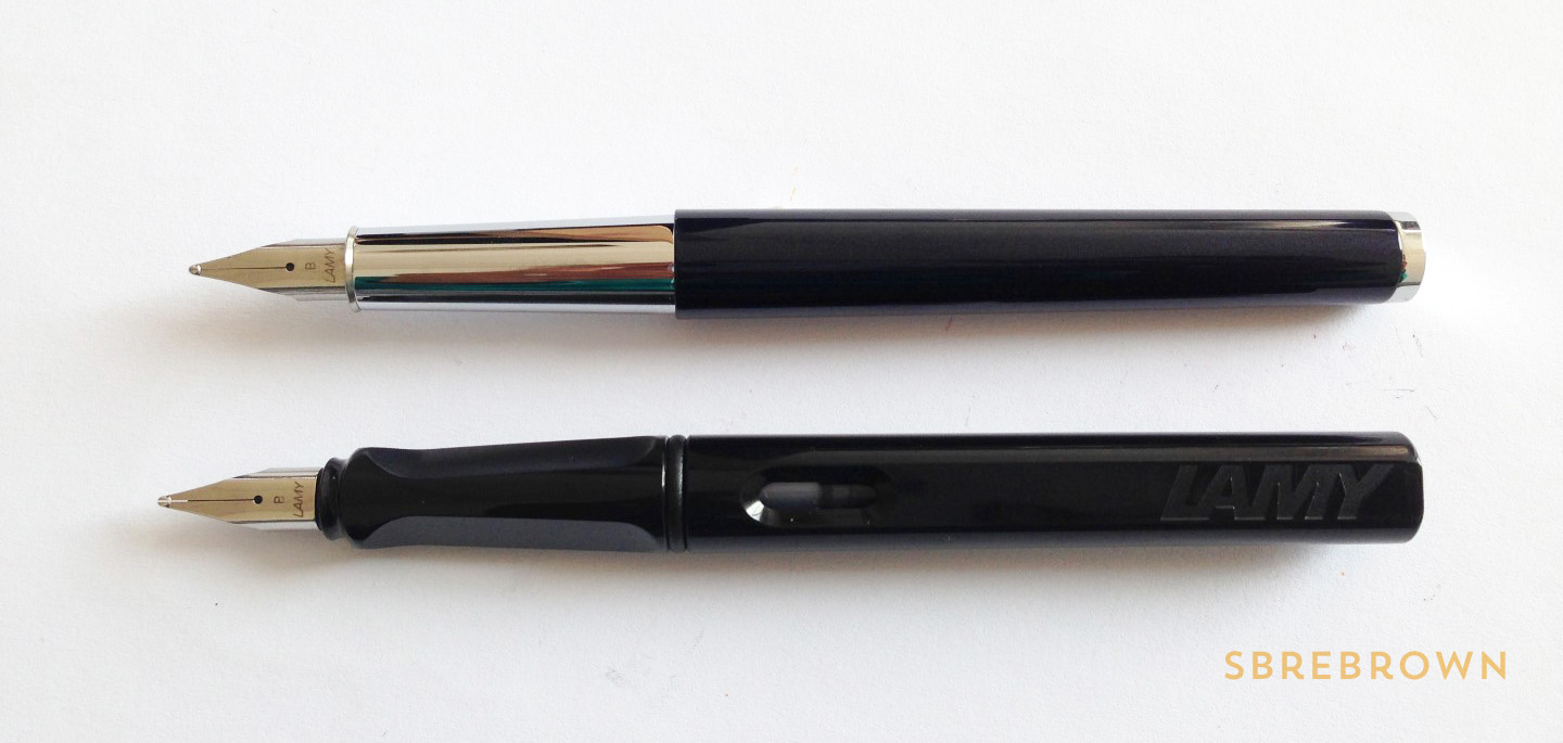 Lamy Scala Blue-Black FP Review (3)