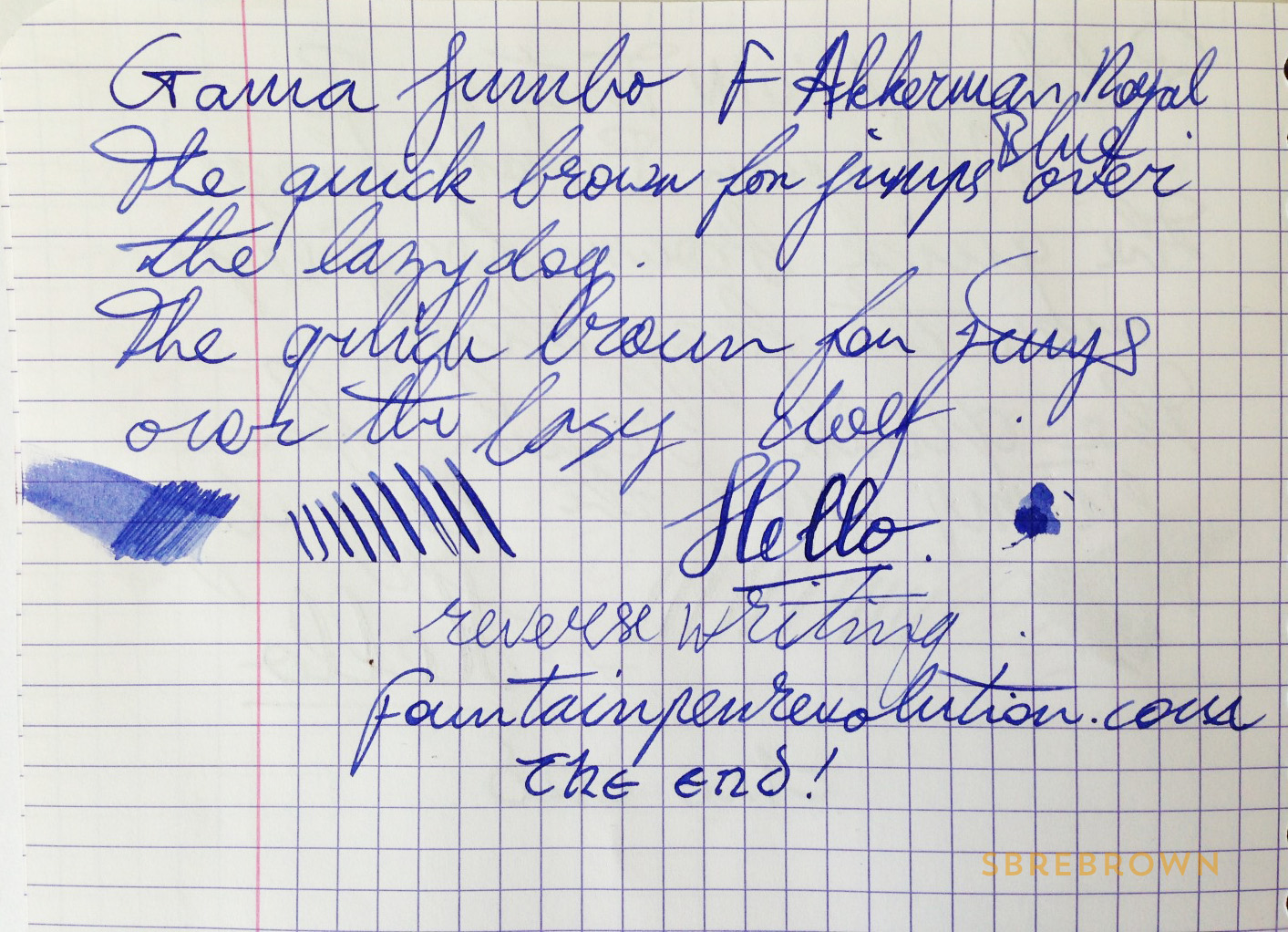 SB. Gama Jumbo Acrylic Fountain Pen Review (6)