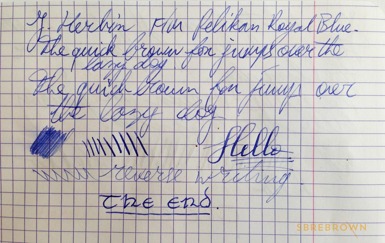 SB. J. Herbin Fountain Pen Review (6)