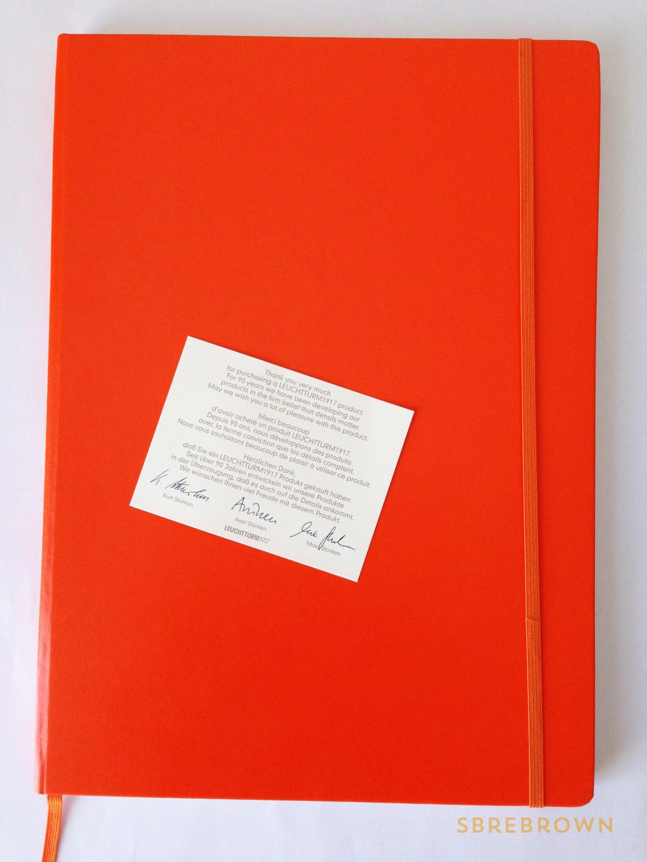 SB. Leuchtturm1917 Master Slim A4+ Notebook Review (1)