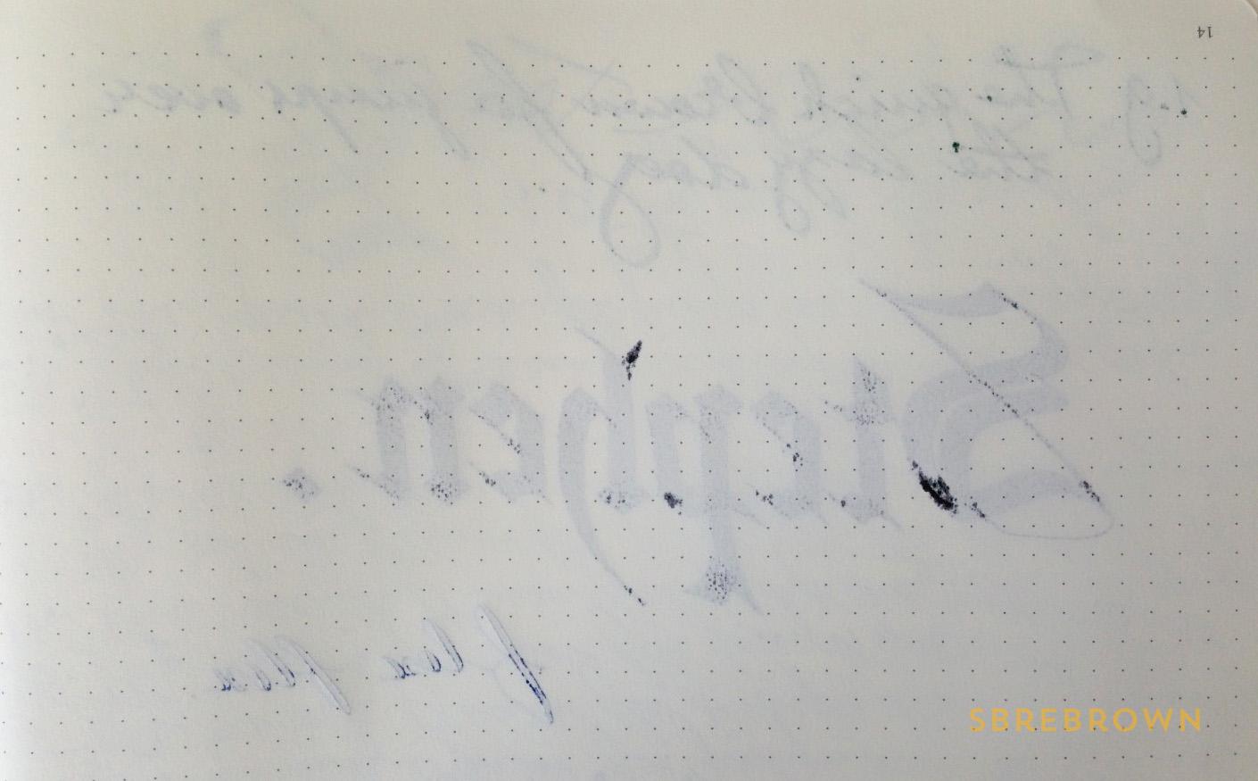 SB. Leuchtturm1917 Master Slim A4+ Notebook Review (5)