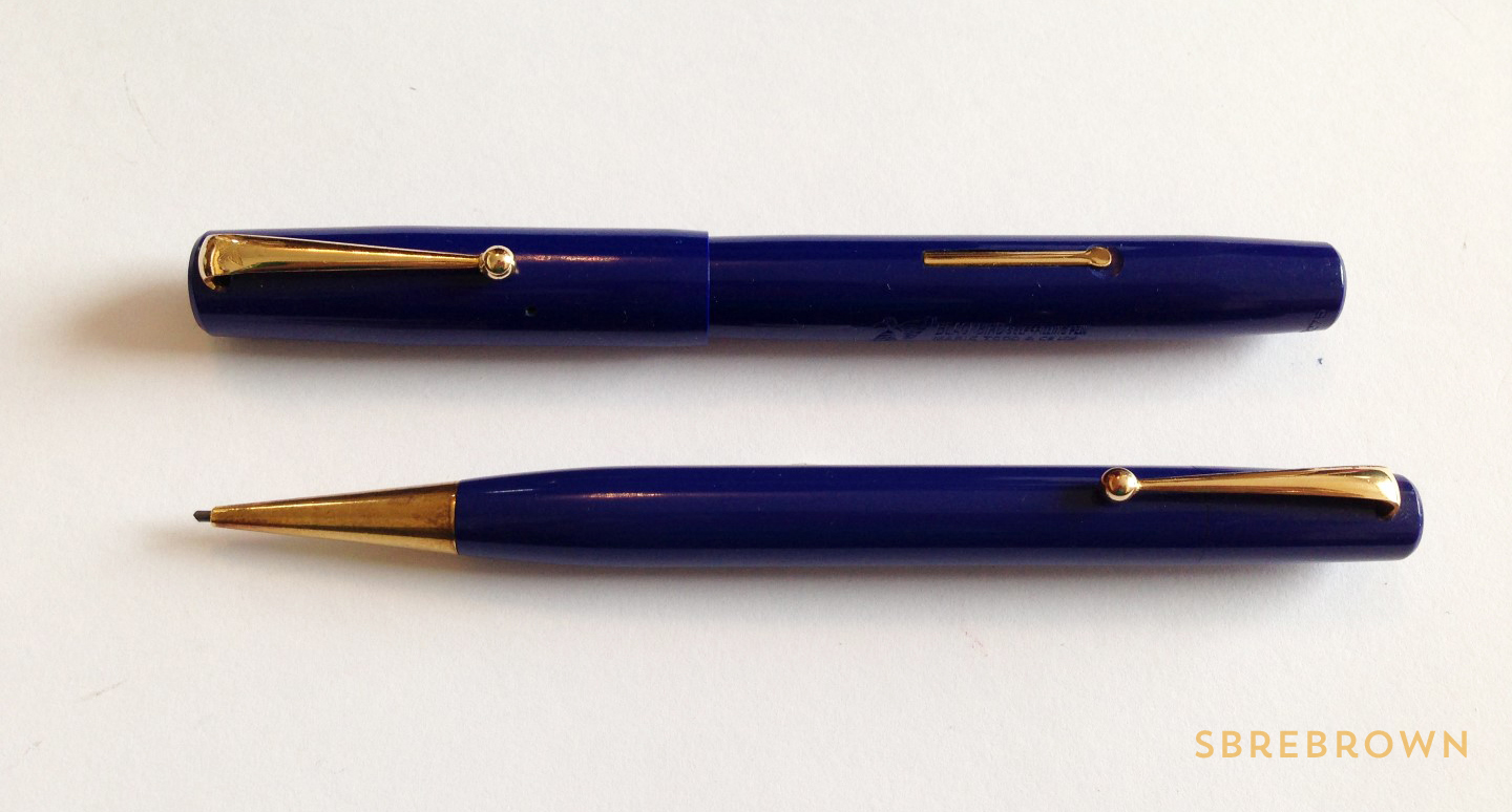 SB. Mabie Todd Blackbird FP & Pencil Review (1)