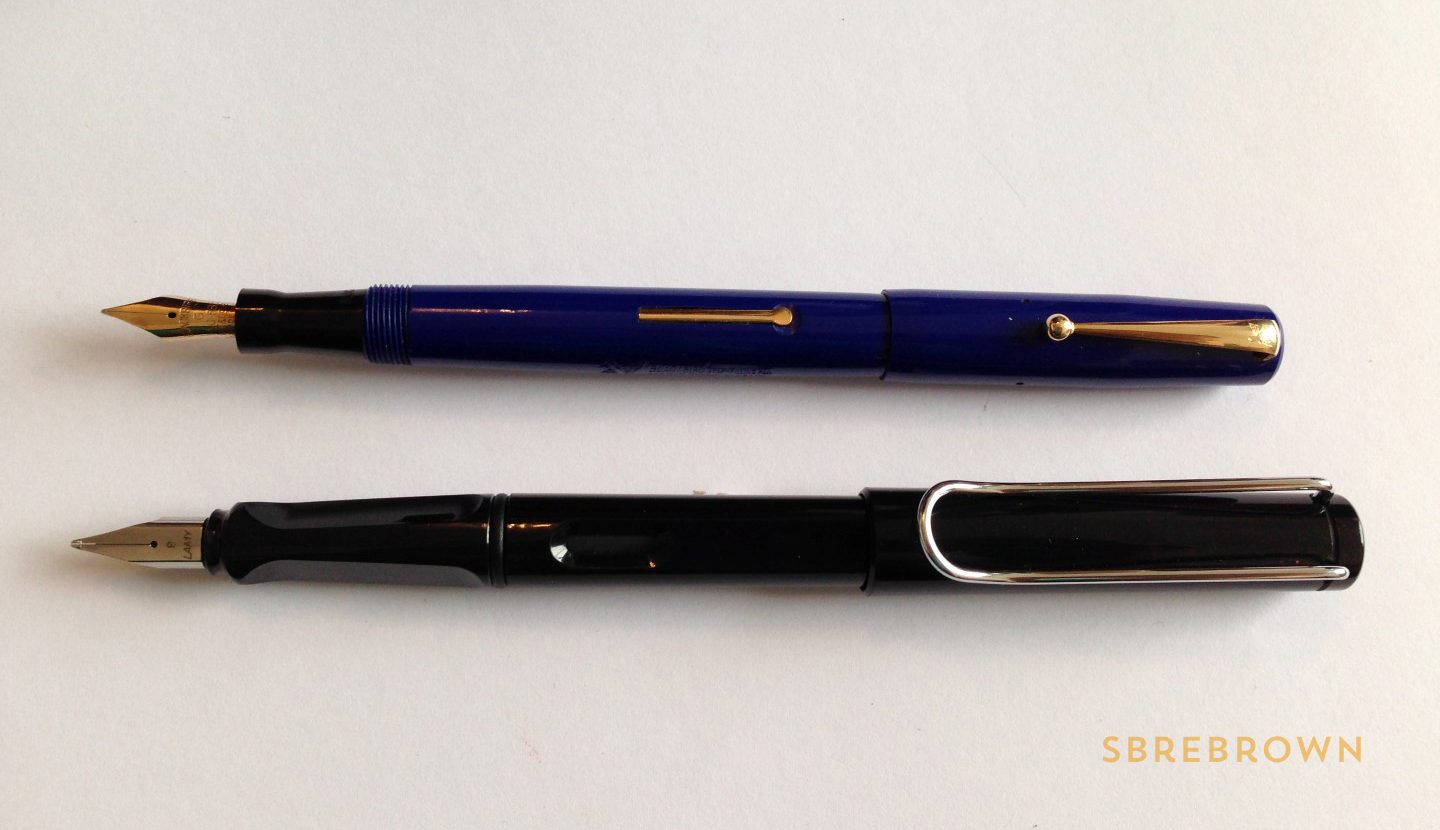 SB. Mabie Todd Blackbird FP & Pencil Review (5)