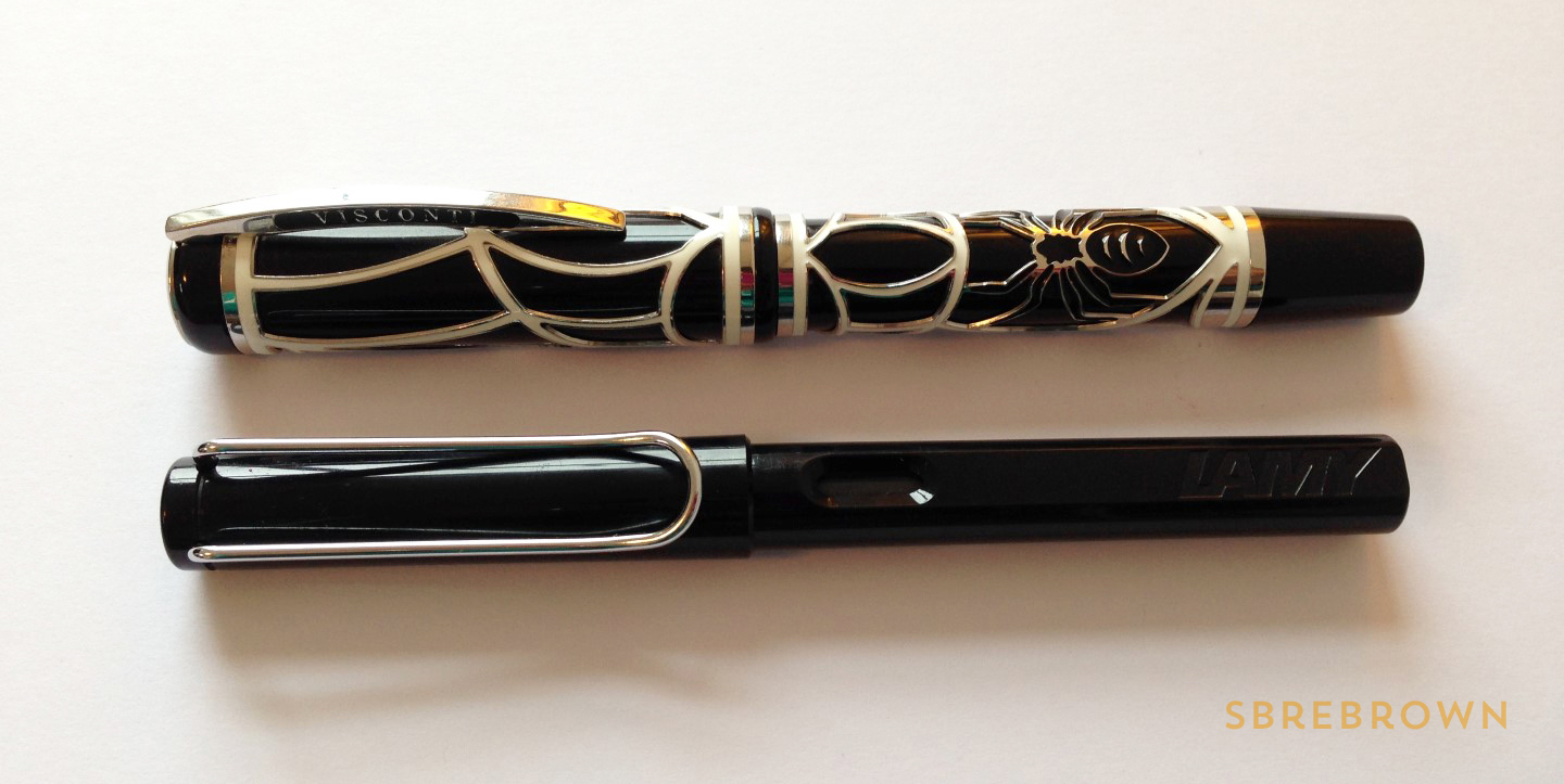 SB. Visconti Istos Aracnis Fountain Pen Review (3)
