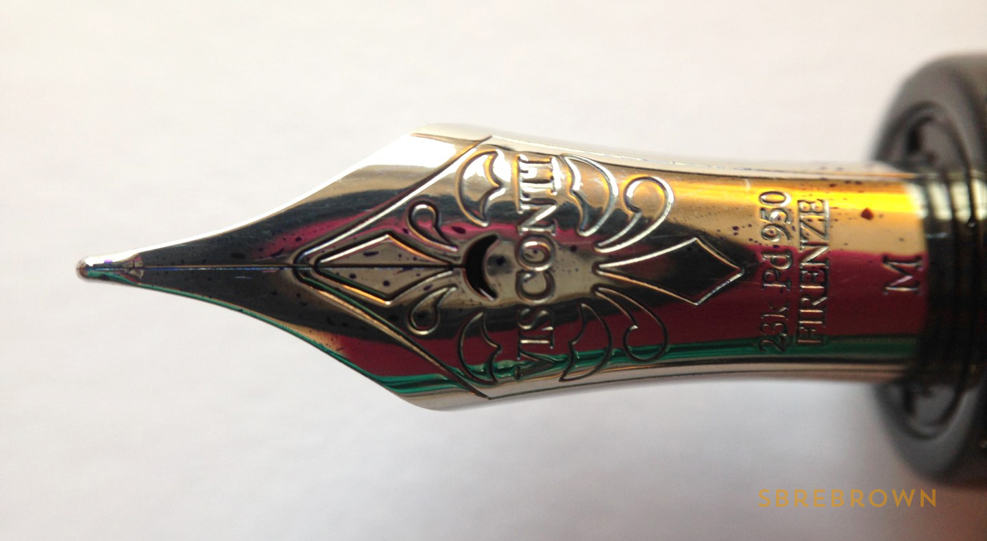 SB. Visconti Istos Aracnis Fountain Pen Review (5)