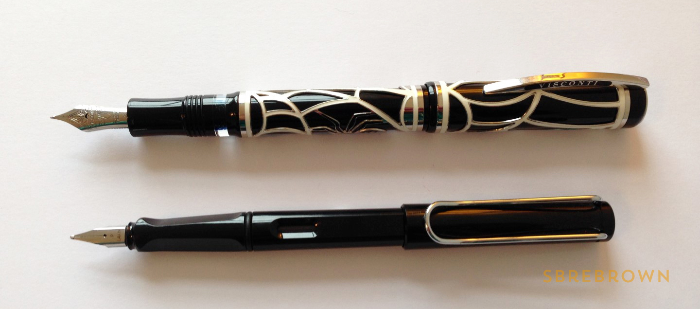 SB. Visconti Istos Aracnis Fountain Pen Review (6)