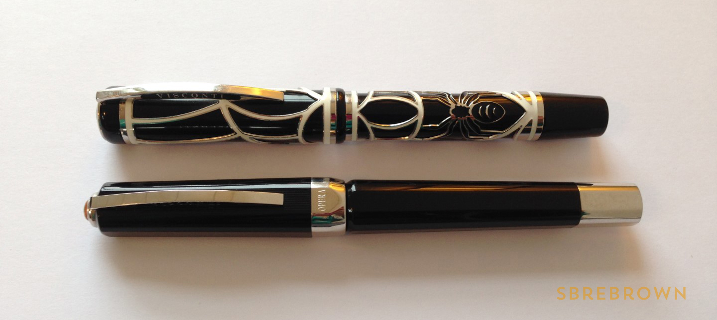 SB. Visconti Istos Aracnis Fountain Pen Review (7)