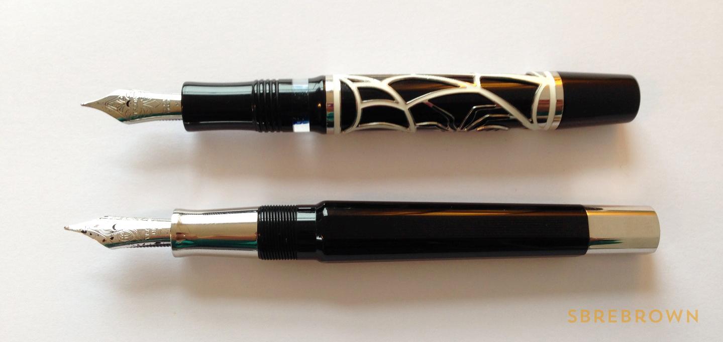 SB. Visconti Istos Aracnis Fountain Pen Review (8)