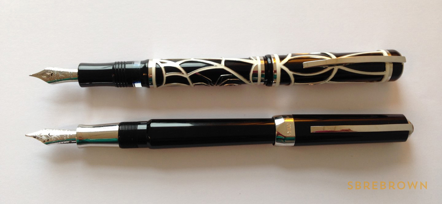 SB. Visconti Istos Aracnis Fountain Pen Review (9)