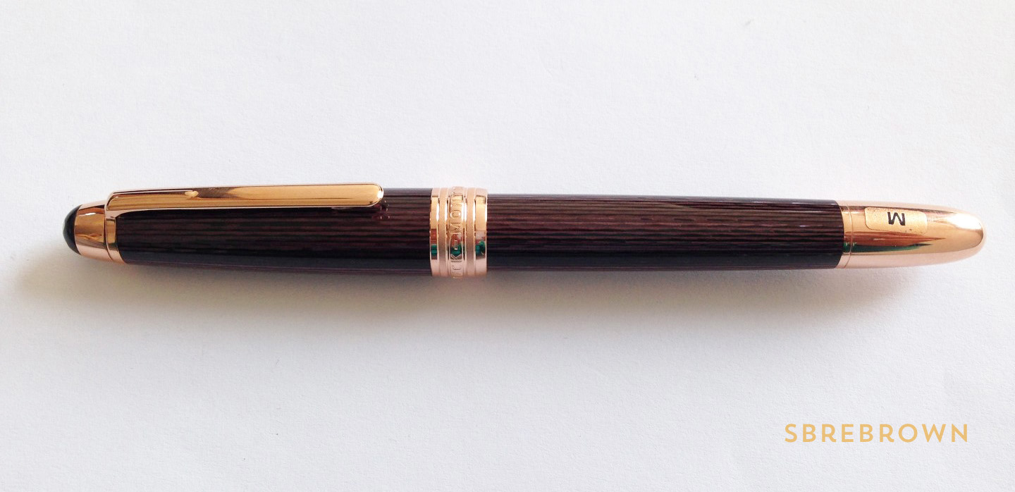 Montblanc Meisterstück Solitaire 90 Years SE Fountain Pen Review (1)