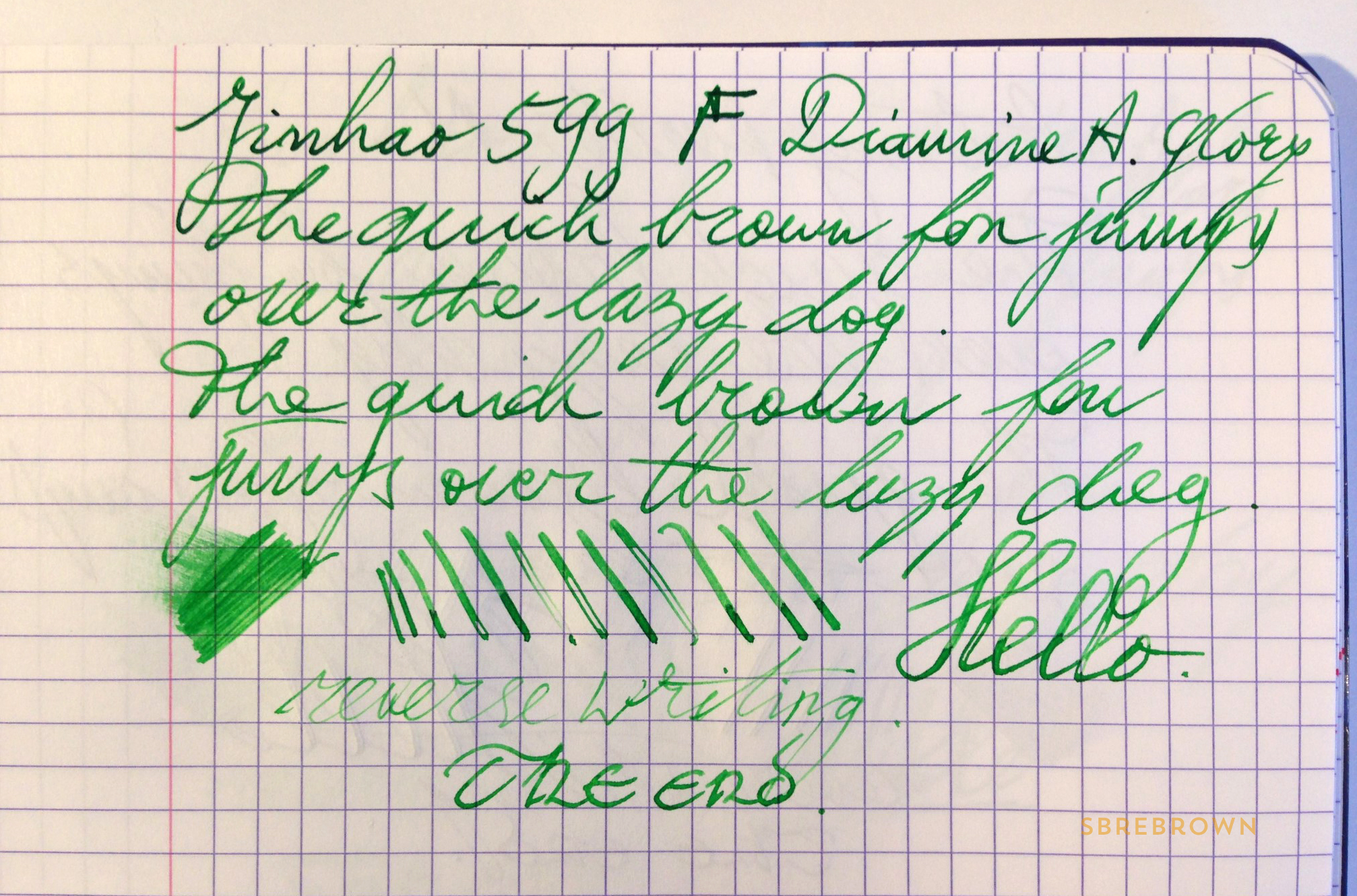 SB. Jinhao 599 FP Review (6)