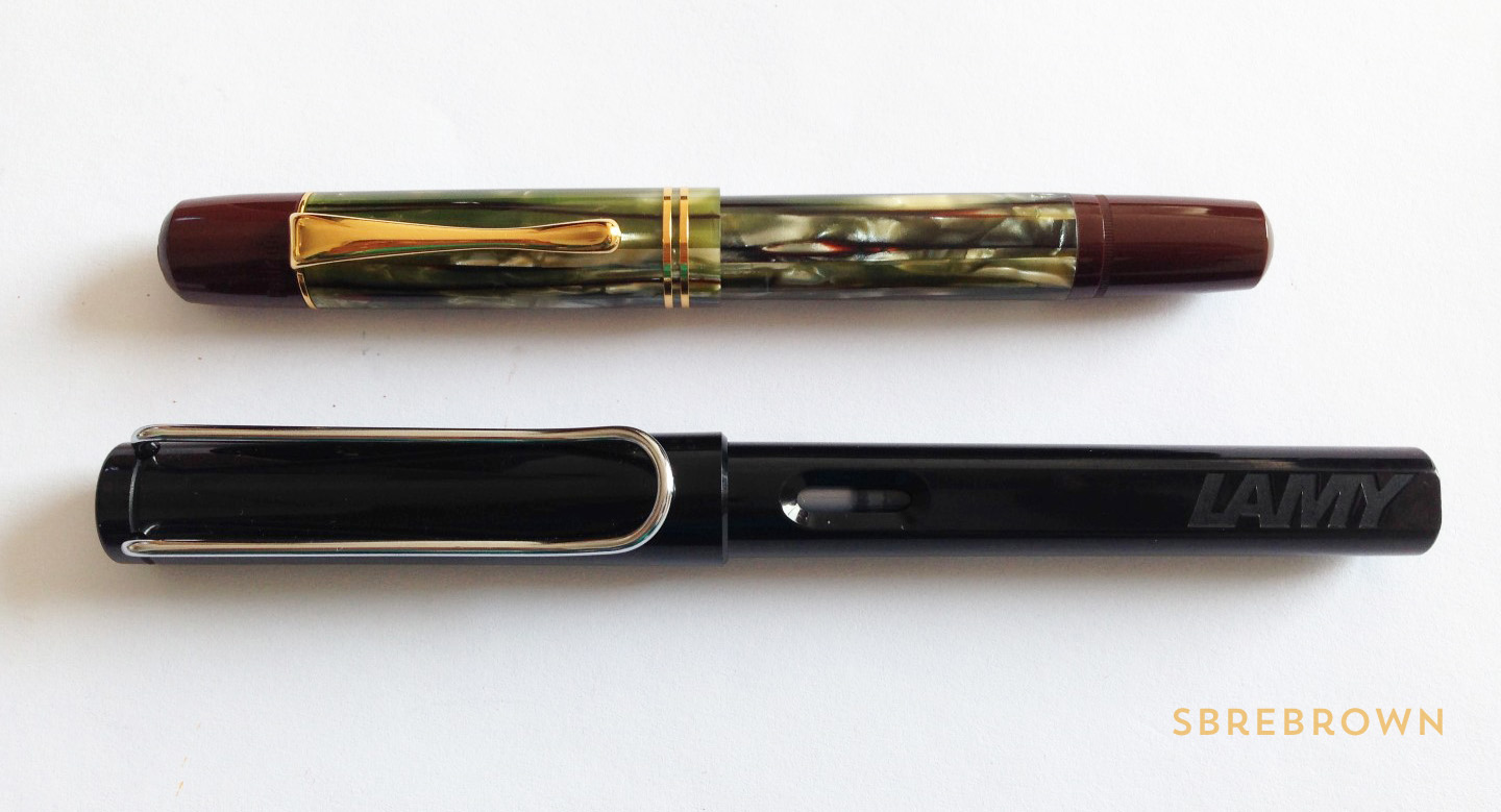 SB. Pelikan Souverän M101N Tortoiseshell Brown SE Fountain Pen Review (2)