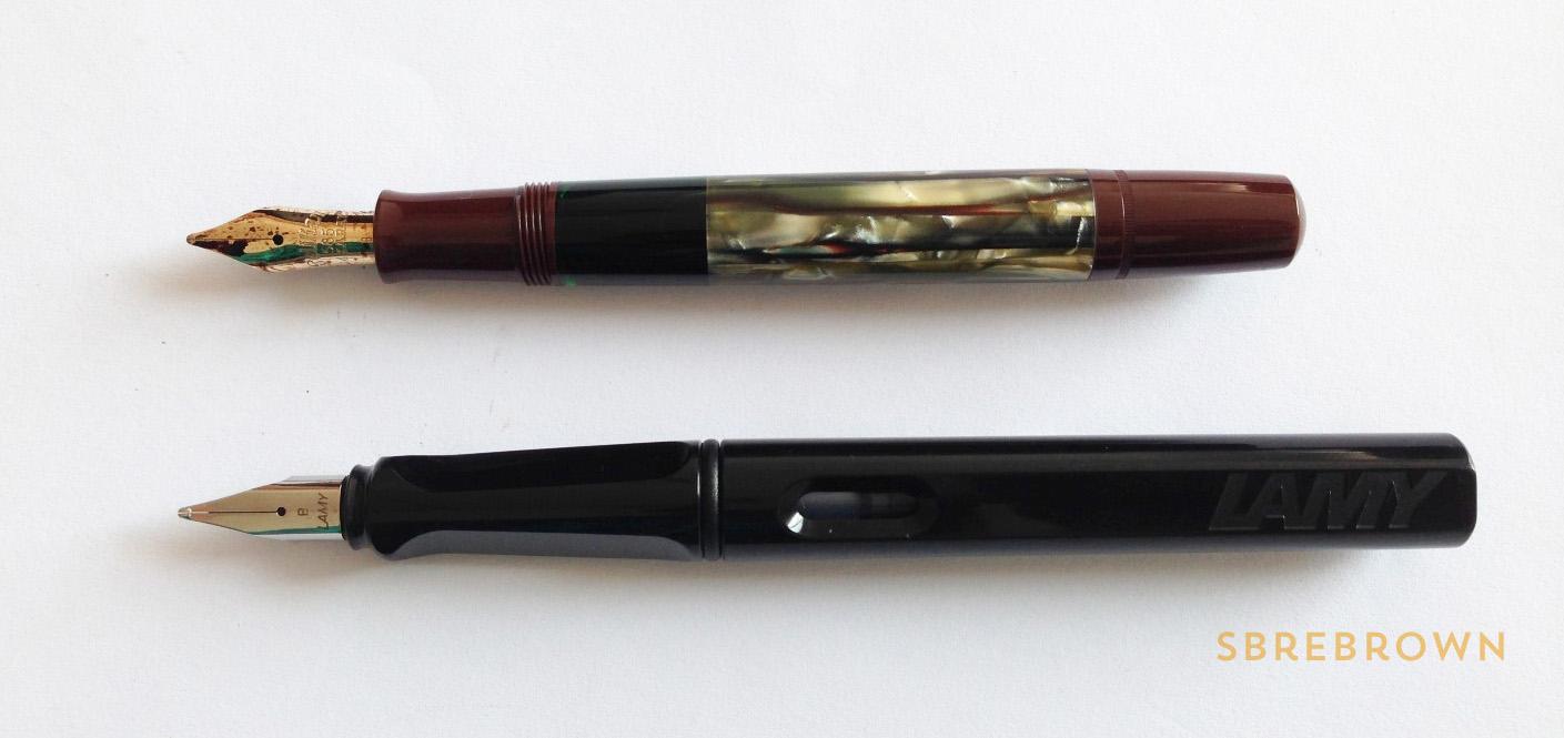 SB. Pelikan Souverän M101N Tortoiseshell Brown SE Fountain Pen Review (3)