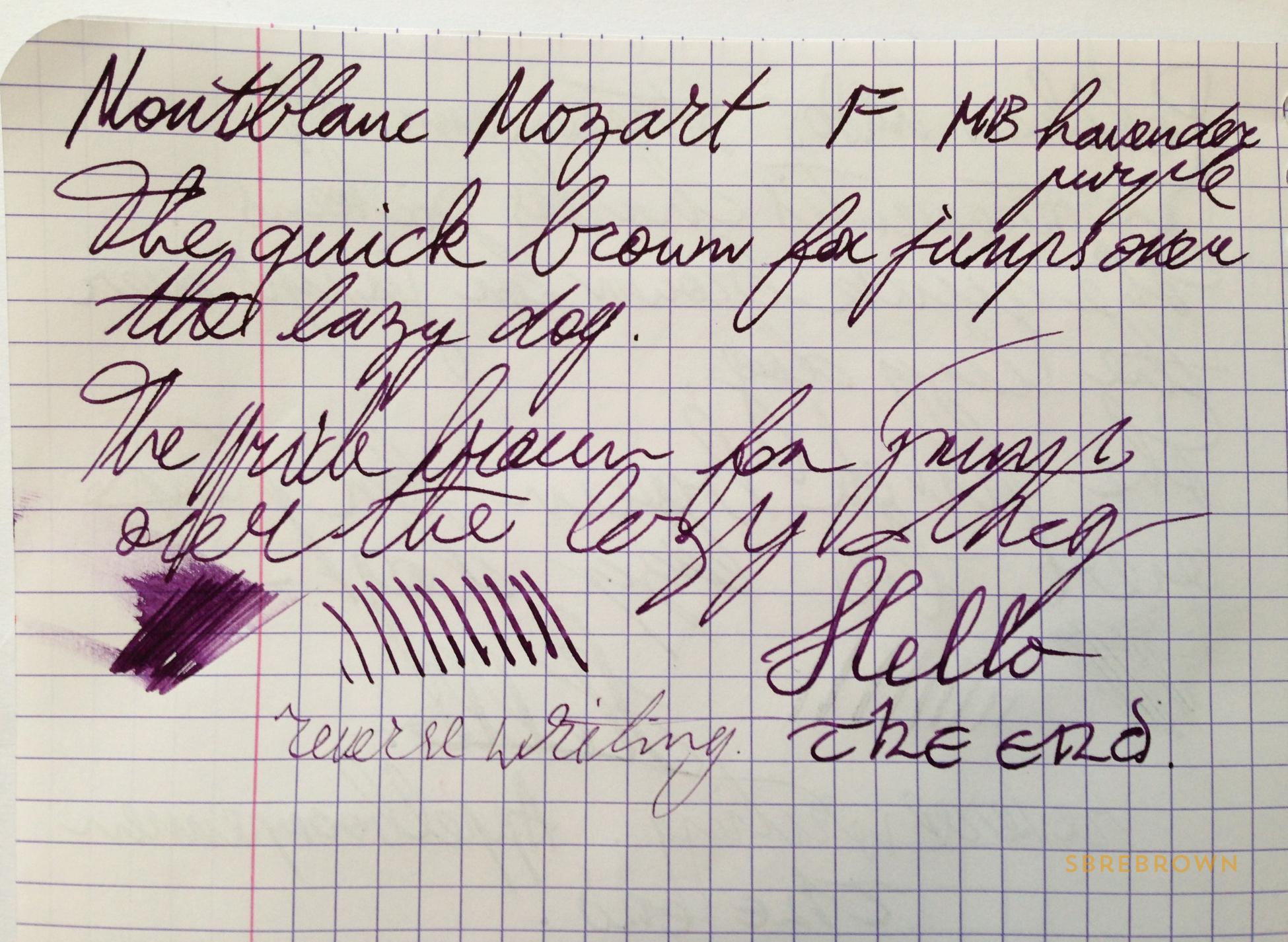 Montblanc Meisterstück Mozart Fountain Pen Review (9)