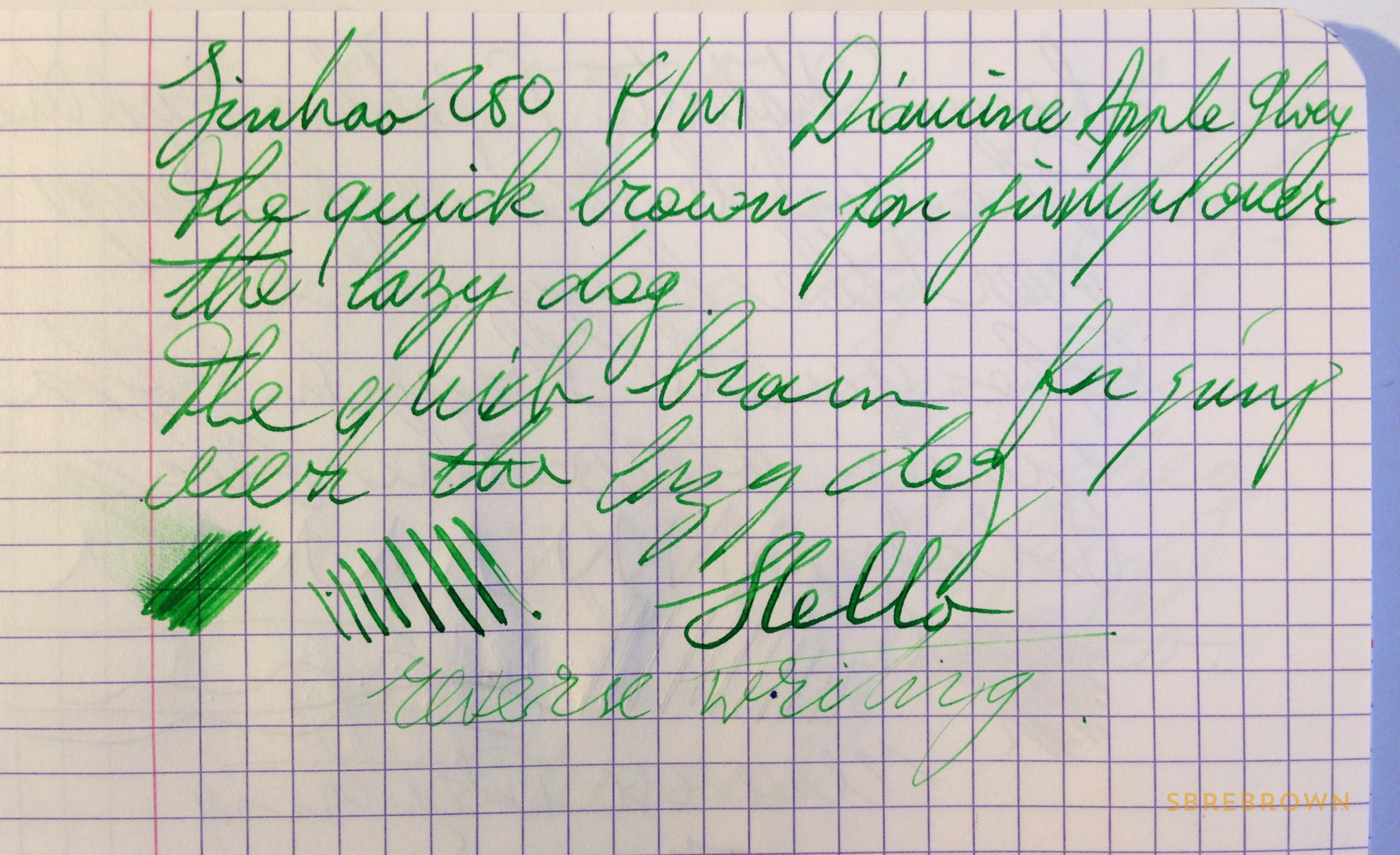 SB. Jinhao 250 FP Review (6)