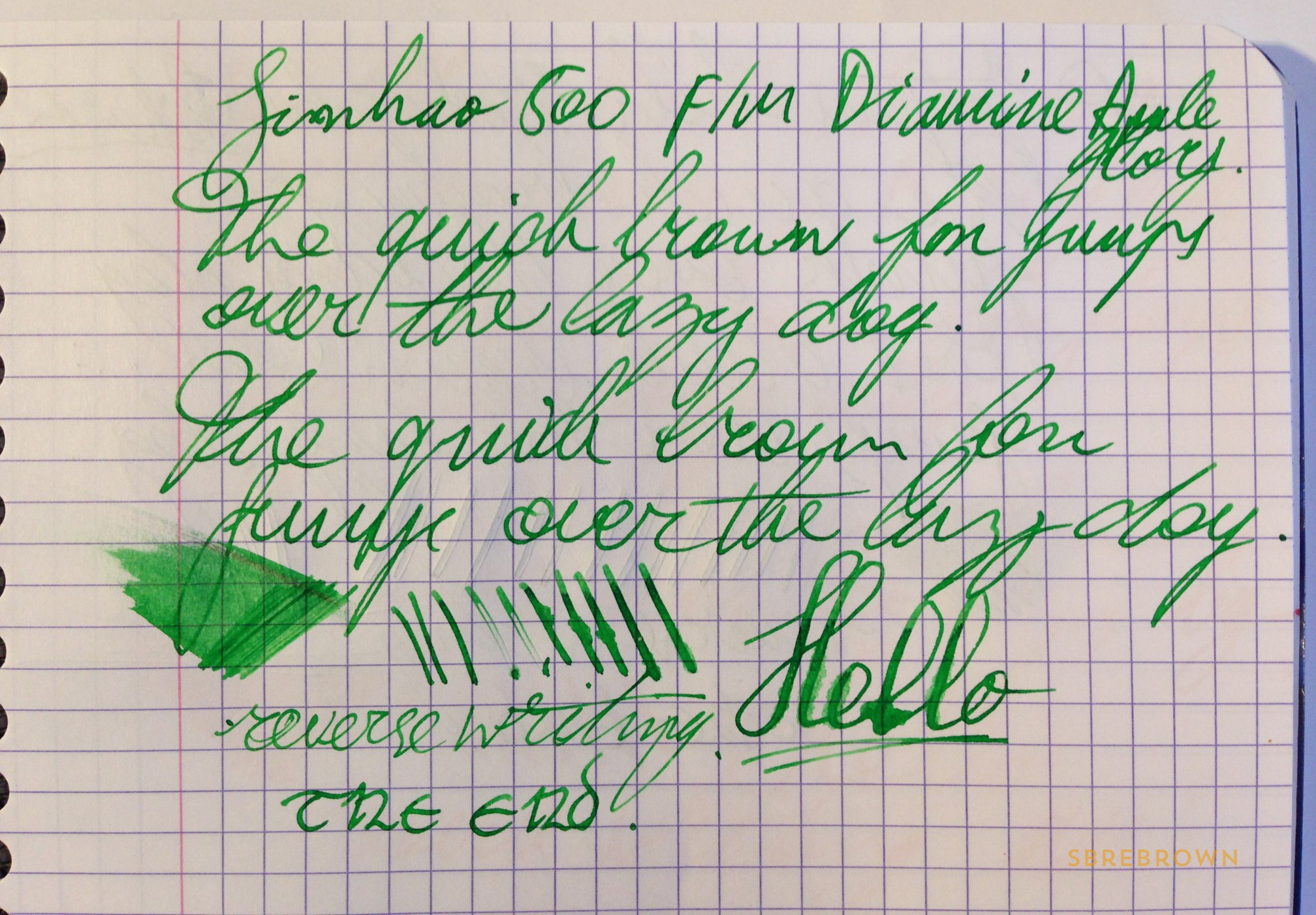 SB. Jinhao 500 Fountain Pen Review (6)
