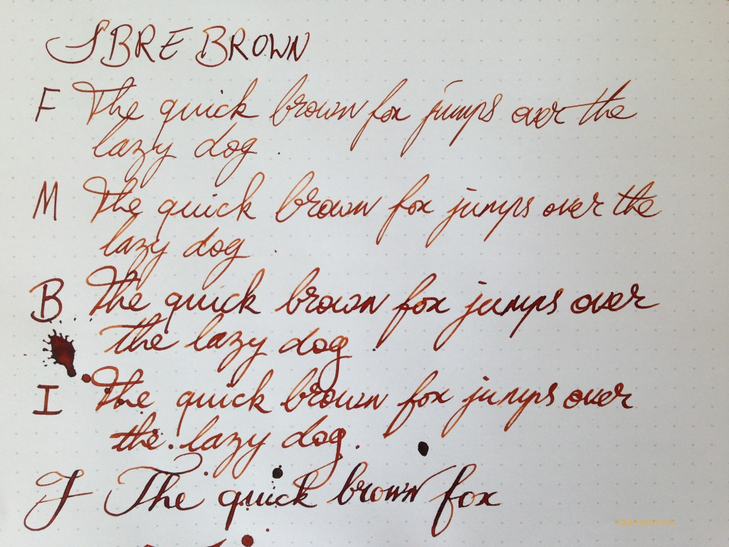 SB. SBREBrown Ink Review (2)