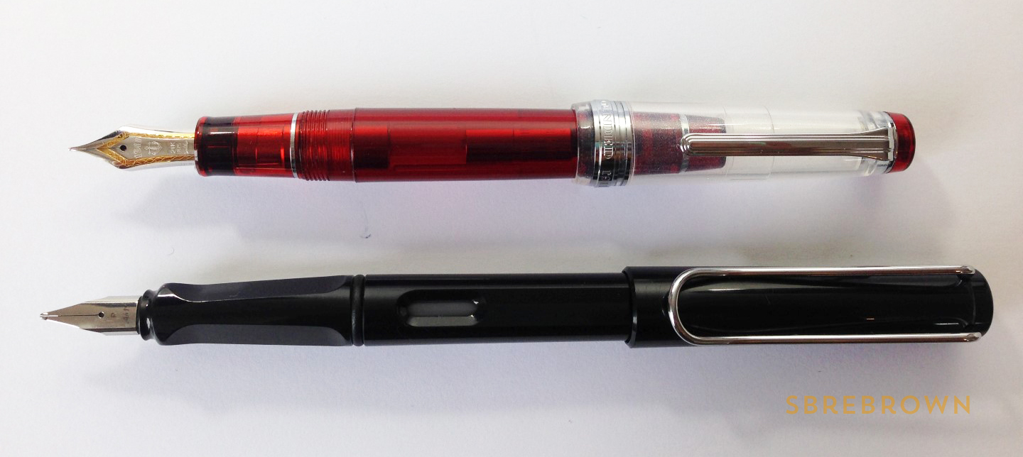SB. Sailor Pro Gear Piccadilly Nights FP Review (5)
