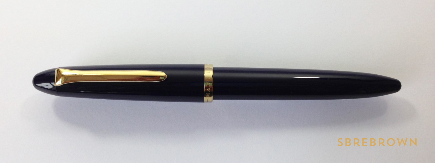 SB. Sailor Profit Fude Nib FP Review (2)