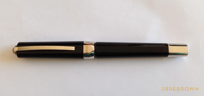 Visconti Opera Master Black Guilloché Fountain Pen Review (2)