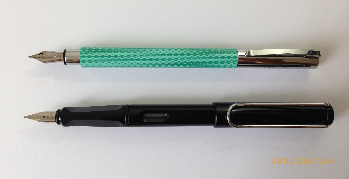 Faber-Castell Ambition OpArt Fountain Pen Review (4)