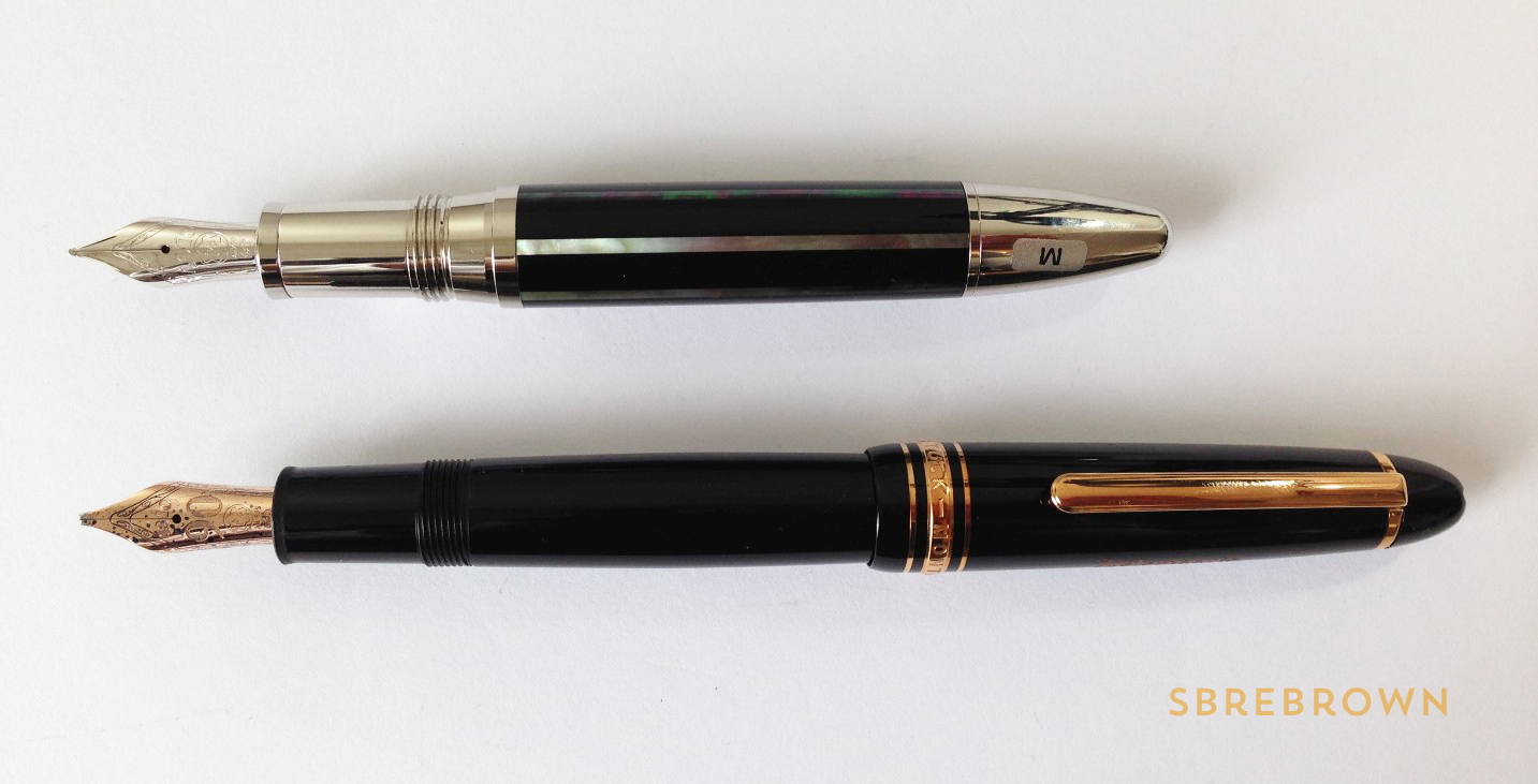 Montblanc Moon Pearl Fountain Pen Review (10)