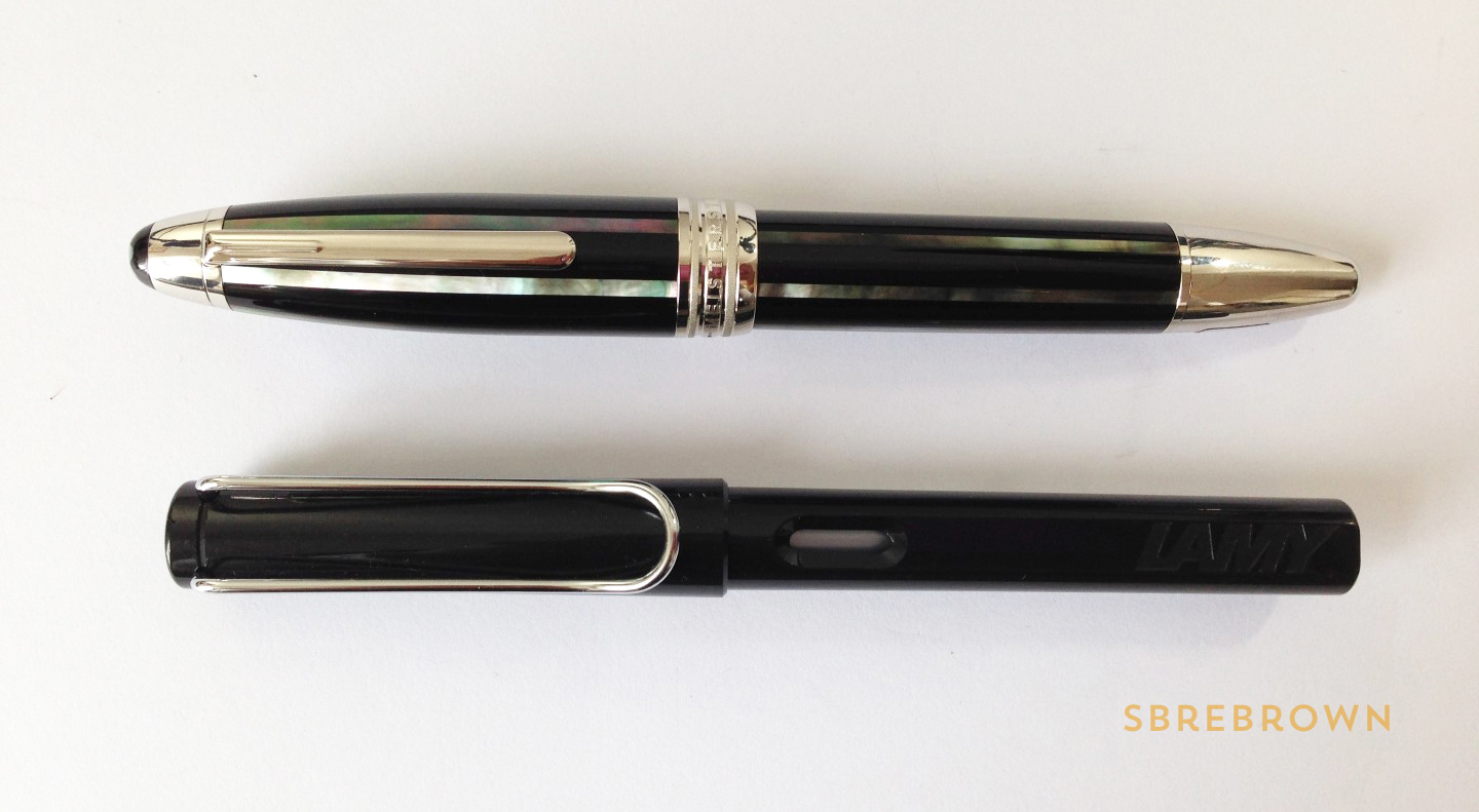 Montblanc Moon Pearl Fountain Pen Review (4)